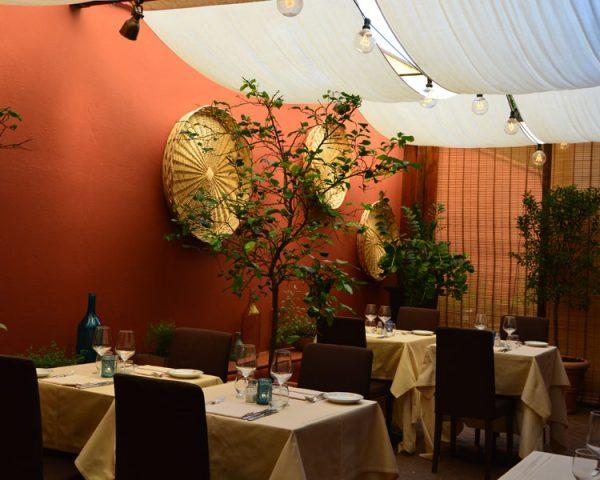 Hotel dei Cavalieri restaurant, Amalfi