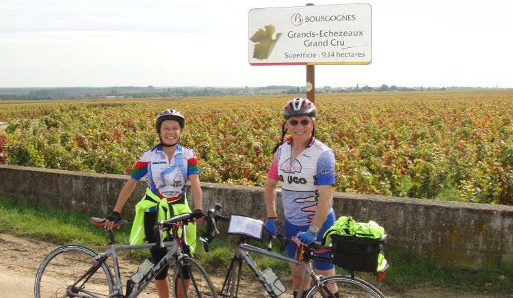 Biking, Route de Grand Crus
