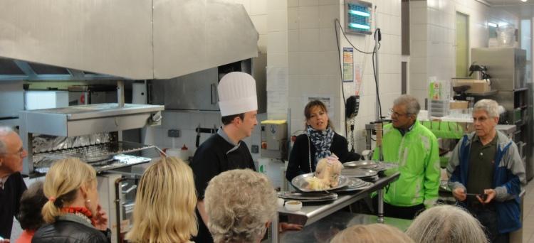 Cooking class, Dijon