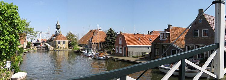 Hindeloopen, Friesland, Holland