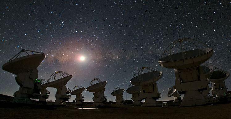 ALMA astronomy station, Atacama, Chile