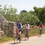 Biking, Puglia, Trulli
