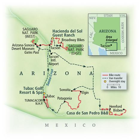 Arizona Updated Map 08/24