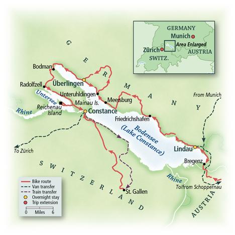 Lake Constance Bike Tour
