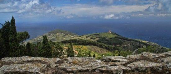 Giglio Island View