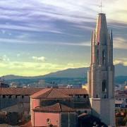 Church of Sant Feliu, Girona, Catalonia, Spain