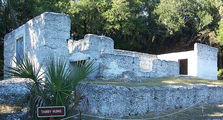 Fort George Island Tabby Ruins