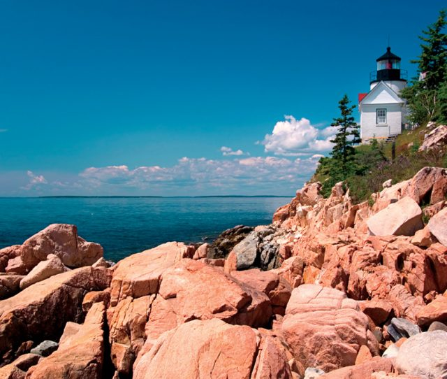 Bass Harbor Head Light, Bass Harbor, Mount Desert Island, Maine, United States