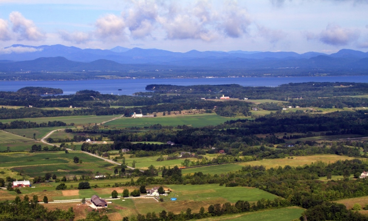 Lake Champlain, Top North America Vistas, VBT
