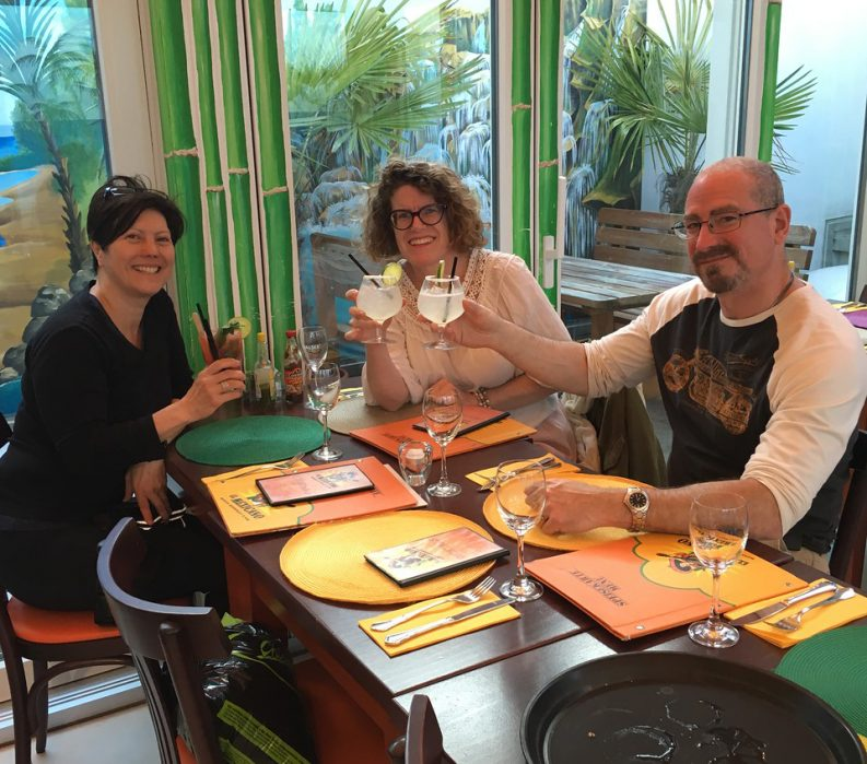 Alsace and the Black Forest: La Route des Vins - Guests enjoying drinks