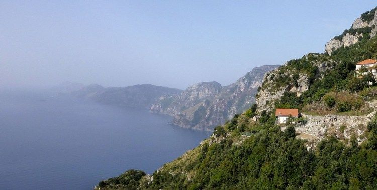 Amalfi Coast from the Path