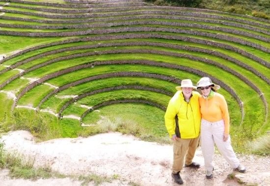 Ancient Terraces at Moray