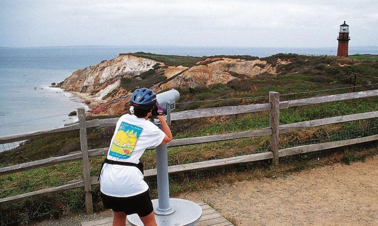 Aquinnah Cliffs, Top North American Vistas, VBT
