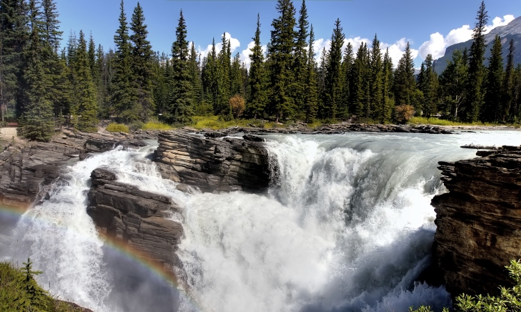 Athabasca Falls, Top North America Vistas, VBT