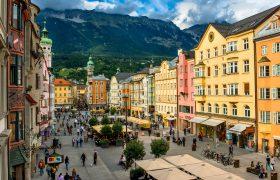 Austria, Tyrol, Innsbruck, Marie Theresien Strasse