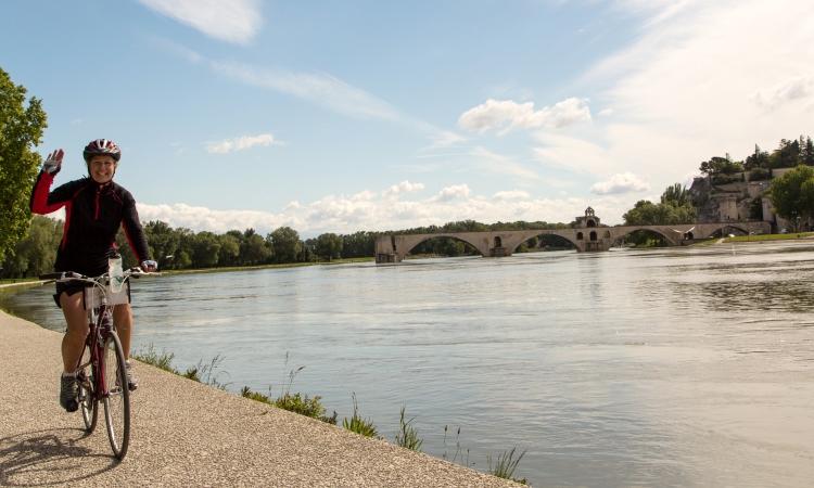 VBT Provence, Avignon biking
