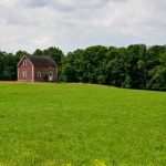 Bicycling Quebec: Best of the Eastern Townships - Barn and Field