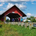 Bicycling Quebec: Best of the Eastern Townships - Covered Bridge