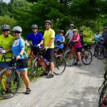 Bicycling Quebec: Best of the Eastern Townships - Guests on bikes