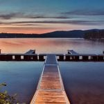 Bicycling Quebec: Best of the Eastern Townships - Lake views and sunset