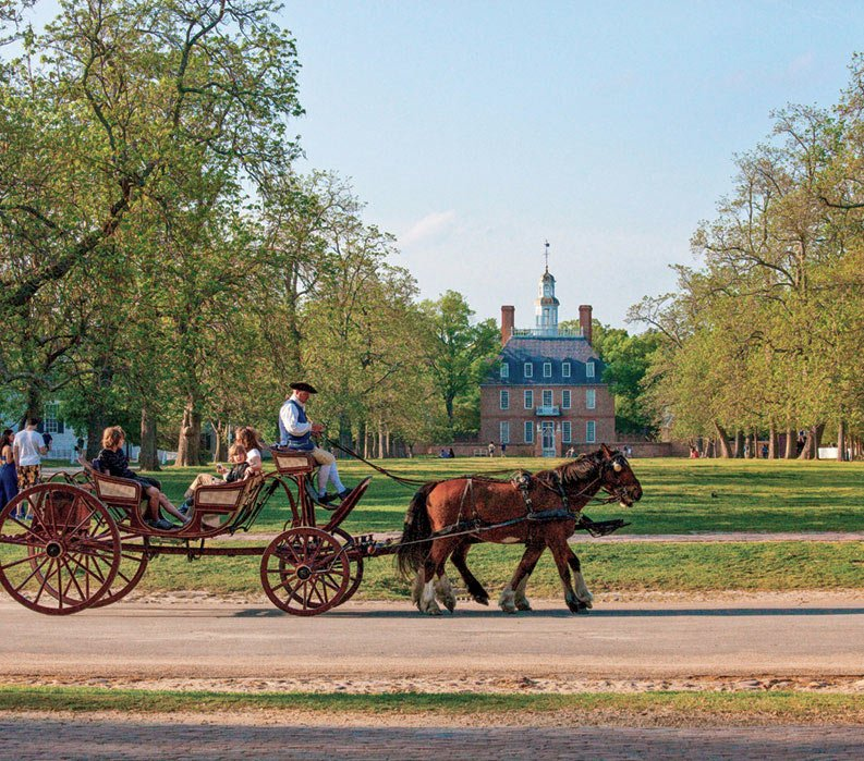 Williamsburg Virginia Guided Bike Tour Vbt Vacations