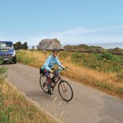 VBT Biker and support van, tips for first-time travelers blog