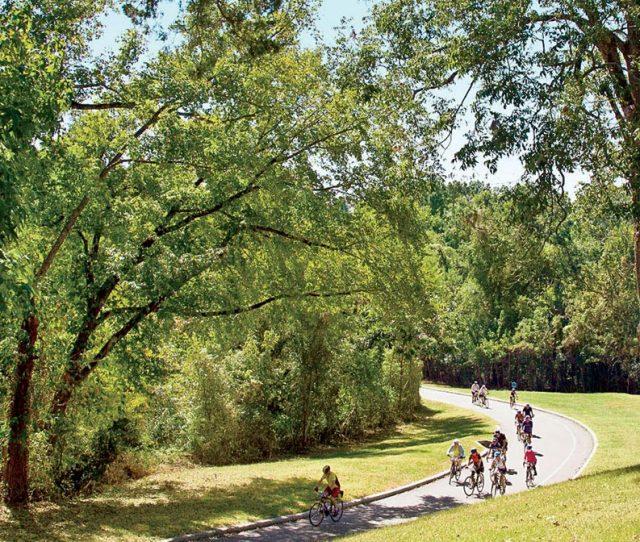 Bikers at Vicksburg Battlefield
