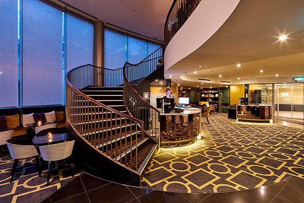 Bolton Hotel New Zealand Lobby