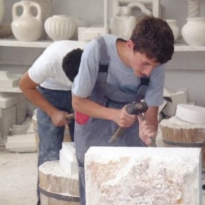Brac Croatia Stonecutting School, VBT blog