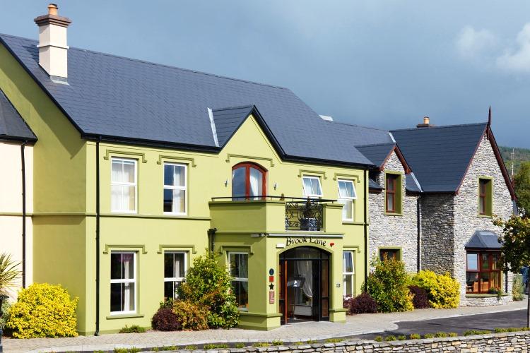 Brook Lane Hotel, Kenmare; VBT Ireland walking tour