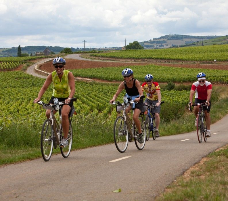 Burgundy biking tour with VBT