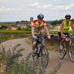 VBT Bikers in Burgundy France