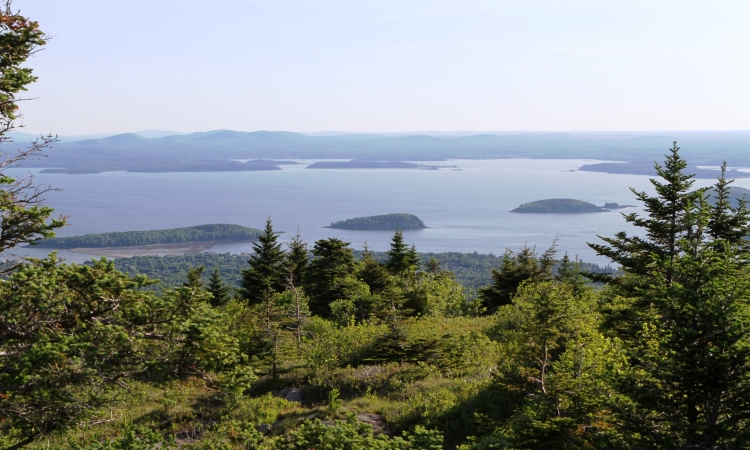 Cadillac Mountain, Acadia, Top Vistas in North America, VBT