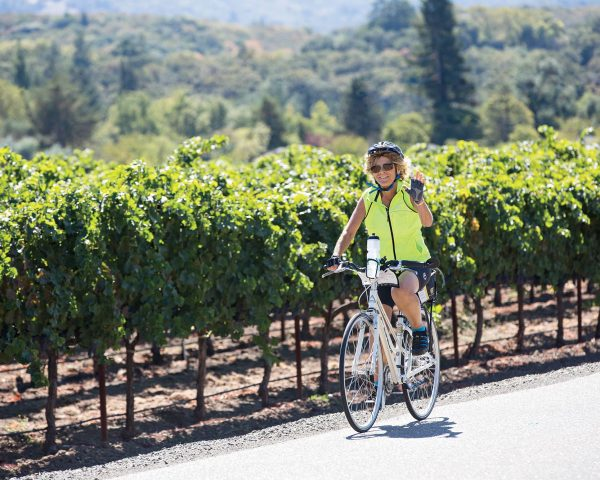 California bike tours wine tours in California