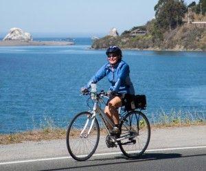 California Coast biking