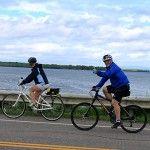 lakeside biking, Lake Champlain Bike Tour VBT