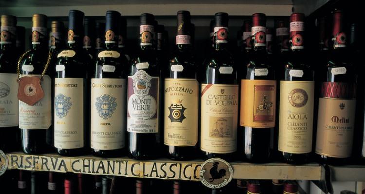 chianti classico wine, tuscany, italy