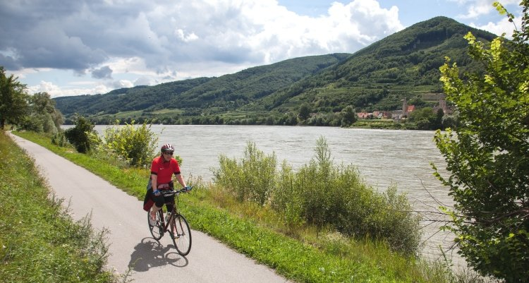 Danube Bike Path, Czech republic