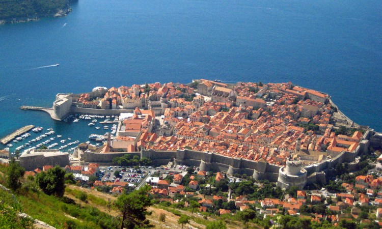 Dubrovnik walled city, croatia VBT Bike tour