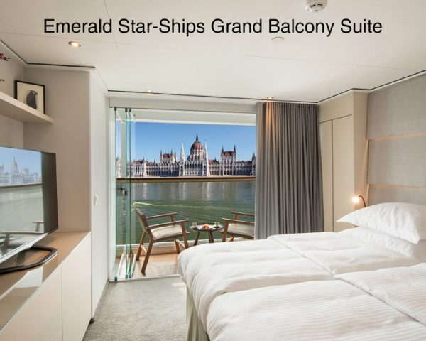 Emerald Star Ships - Grand Balcony Suite