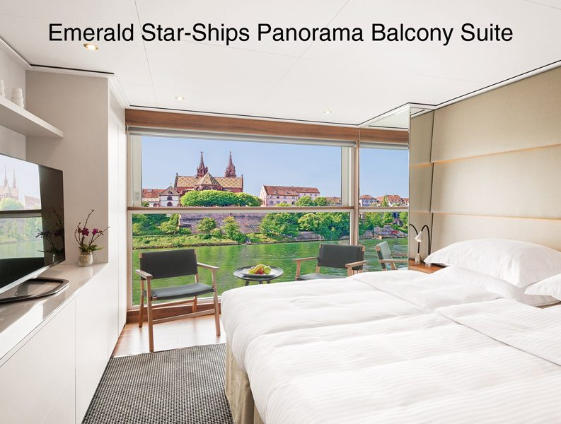 Emerald Star Ships - Panorama Balcony Suite