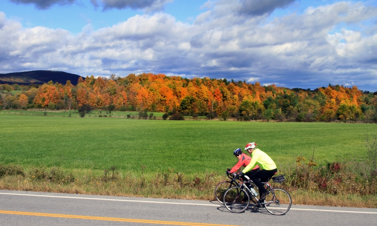 fall vermont biking, blog