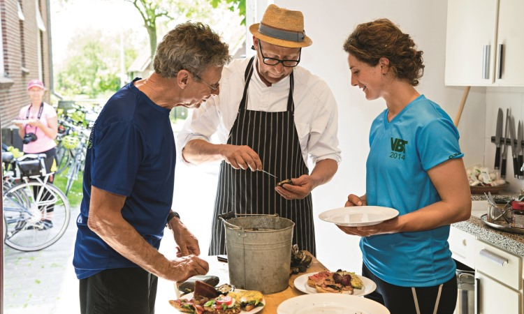 Cooking class in holland - vbt bike tour