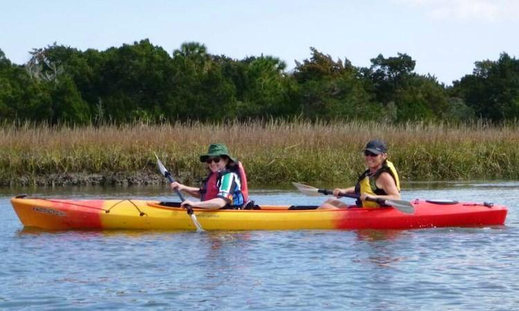 VBT Florida, kayak