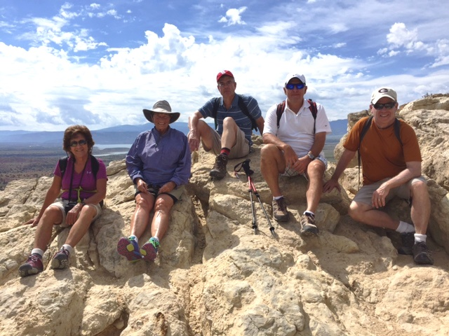 VBT Travelers at Ghost Ranch, new mexico