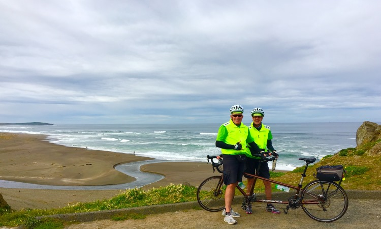 California Bike tour, VBT