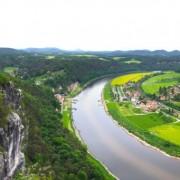 Bastei formation, Germany