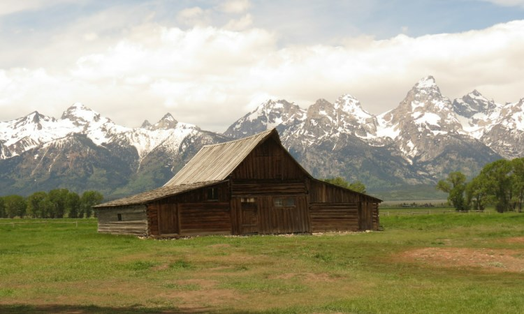 mormon row, Grand teton national Park, VBT walking