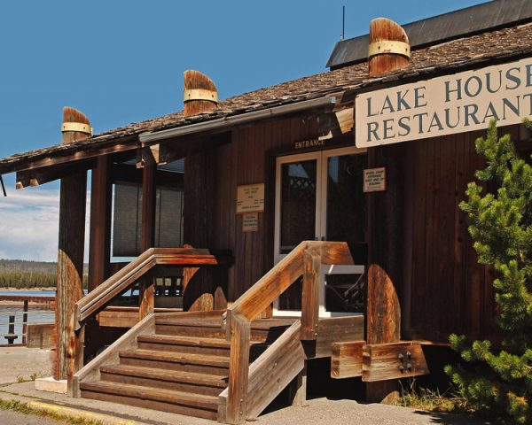 Grant Village Lodge Lake House Restaurant