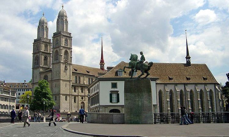 Grossmuenster_Wasserkirche